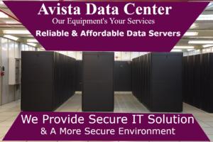 Avista Solution - Data Center
